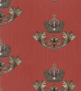 Glööckler Tapeten Imperial 54856 Damastornament Glööckler Krone