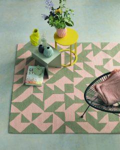 Brink&Campman Teppichkollektion 2017 Nova Origami 89002 rosa