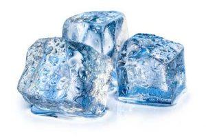 Eiswürfelmethode gegen Druckstellen Teppich