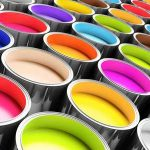 konservierungsmittelhaltige Farbe