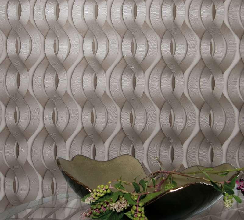 Bild Colani Legend Tapete-helix-spirale-mit-carbonpragung-vanille-colani-mar59804