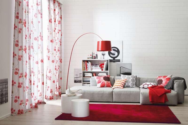 Bild Teppichtrends 2019 Schöner Wohnen Teppich Victoria rot