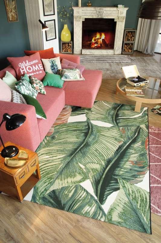 Bild Teppichtrends 2019 Teppich Tom Tailor Grden Leaf
