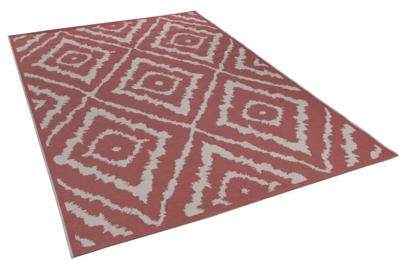 Bild Teppichtrends 2019 Teppich Tom Tailor Garden Pattern coral