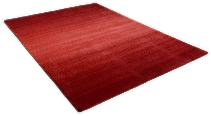 Bild Teppichtrends 2019 Teppich Theko Woolstar Ombre rot