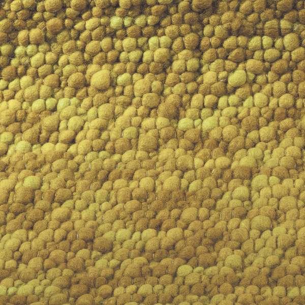 Bild Teppichtrends 2019 Teppich B&C Stubble gelb