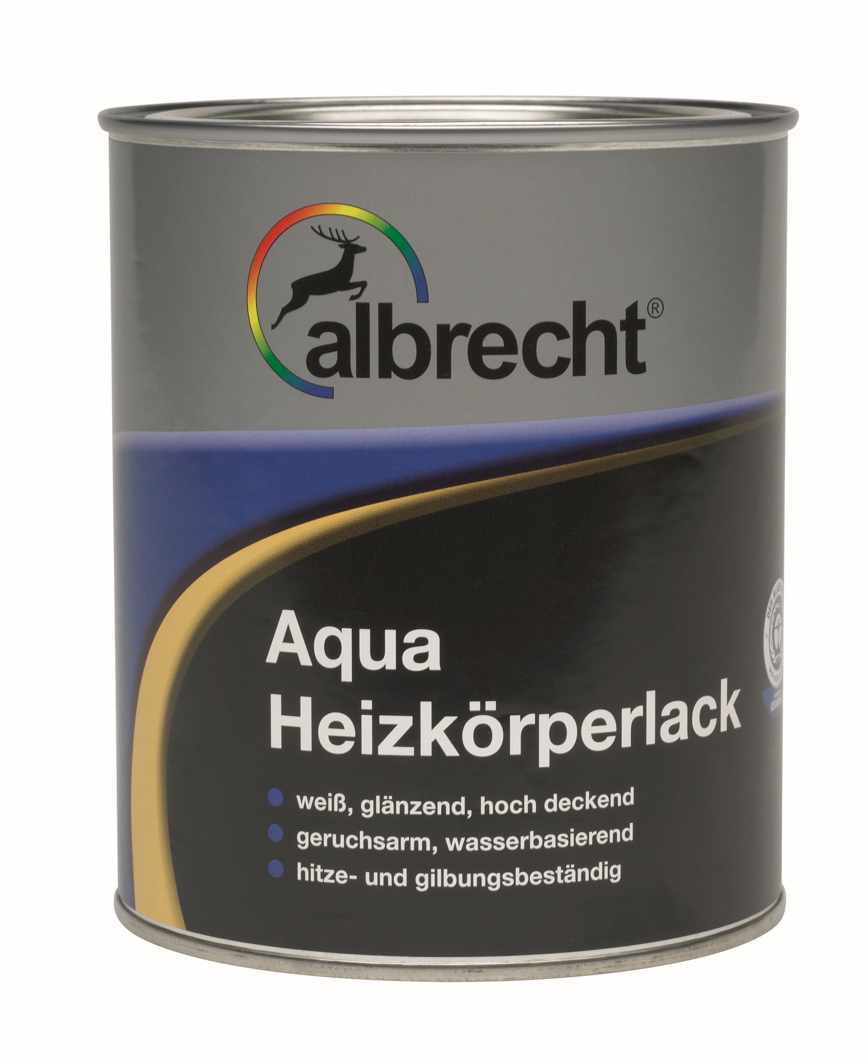 Aqua Heizörperlack (Weiß; 750 ml)