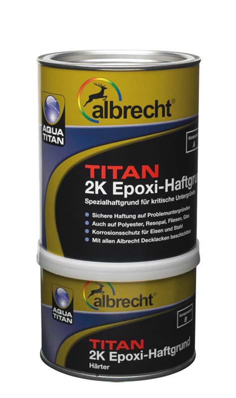 Aqua Titan 2K Epoxi-Haftgrund - Kombigebinde (Weiß; 1 Liter)