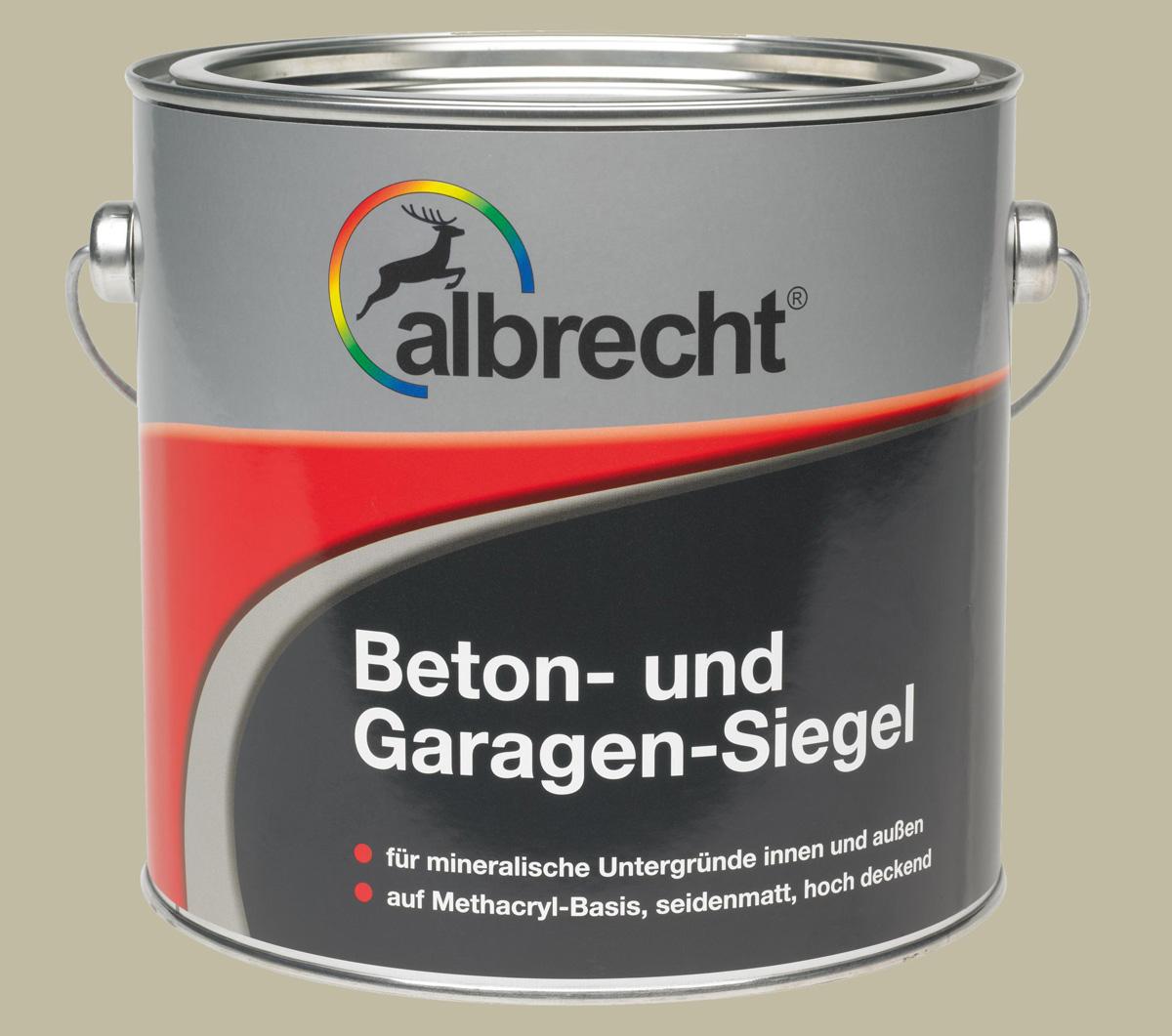 Beton- und Garagen-Siegel (Kieselgrau; 5 Liter)