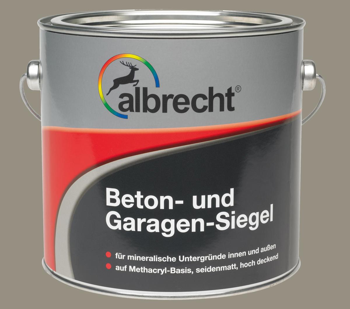 Beton- und Garagen-Siegel - Steingrau