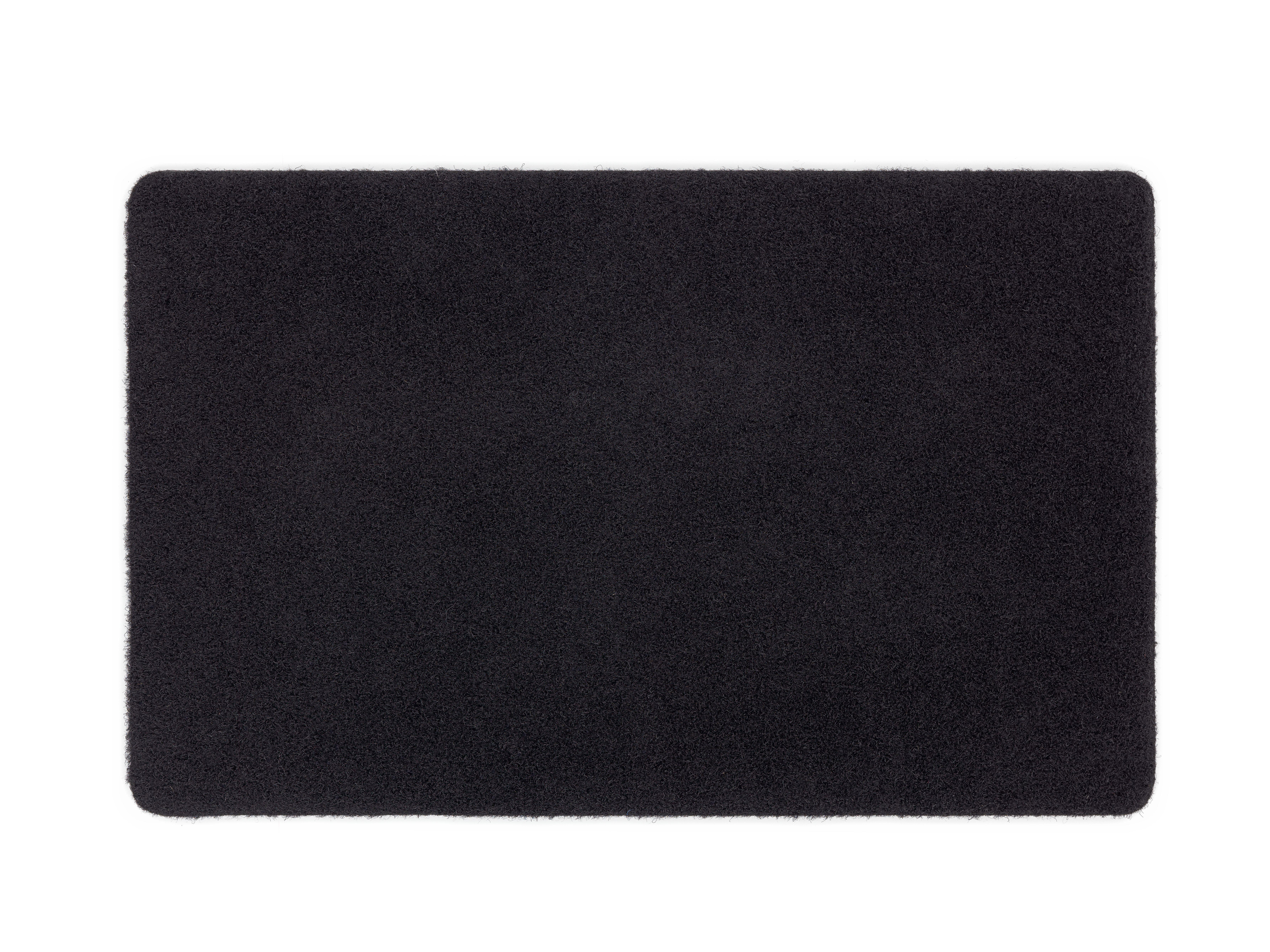 Fußmatte Power Rib (Schwarz; 40 x 60 cm)