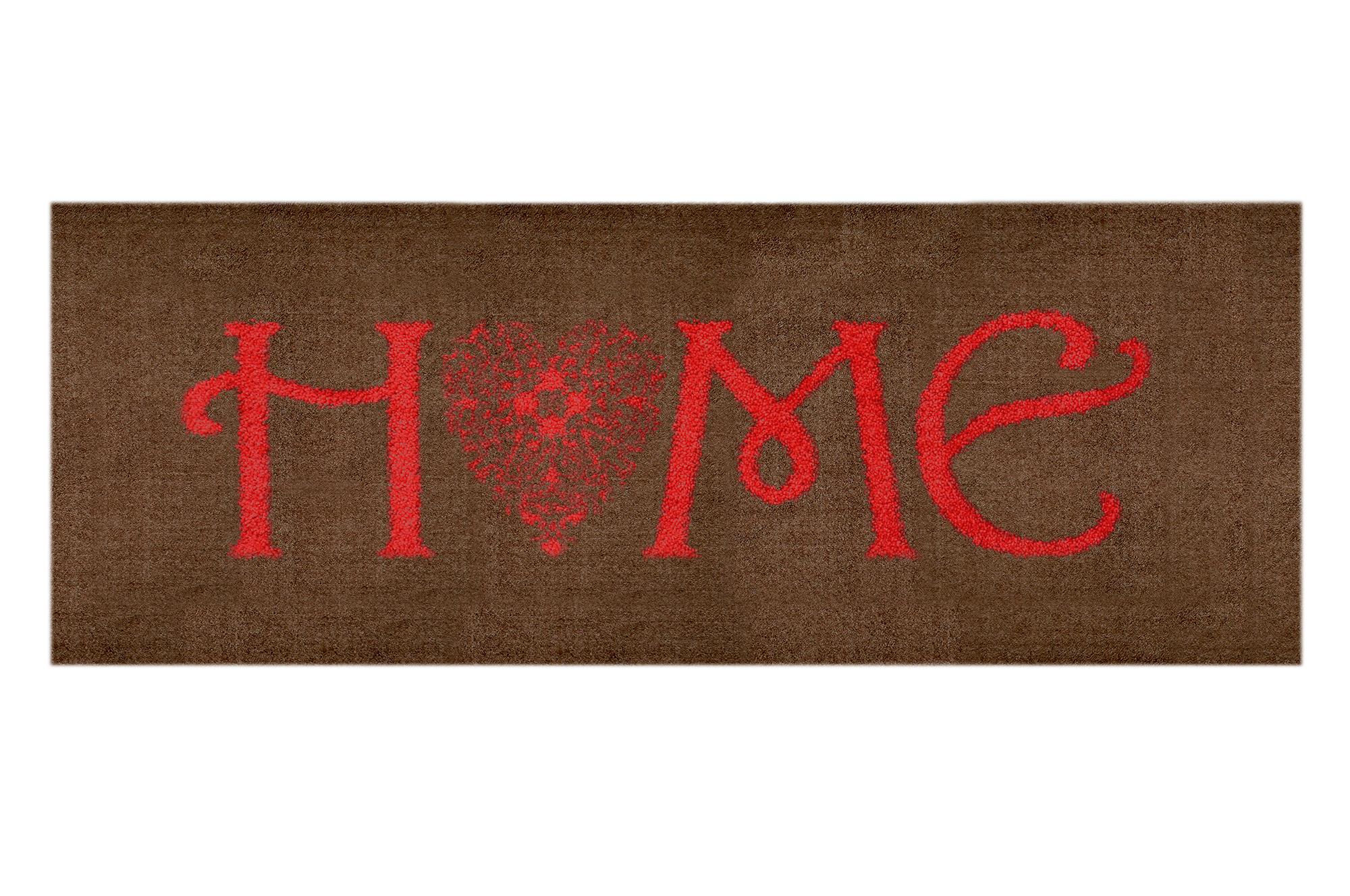Schmutzfangteppich, LifeStyle-Mat: Home Heart, groß (50 x 150 cm)