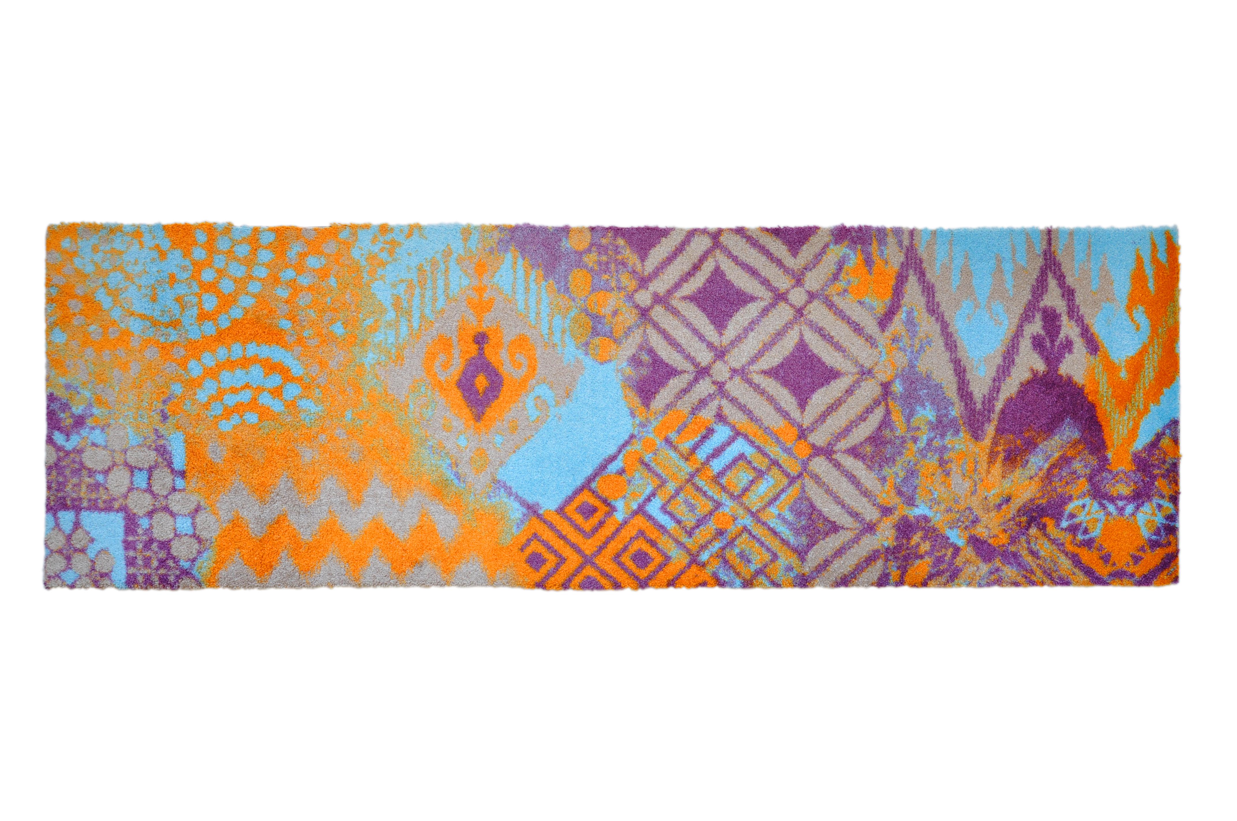 Schmutzfangteppich, LifeStyle-Mat: ZickZack, groß (67 x 170 cm)