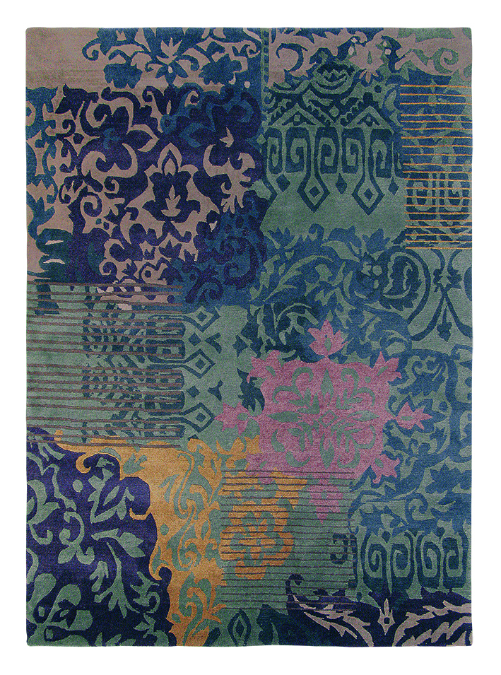 Teppich Kodari Venice (Blau; 200 x 300 cm)