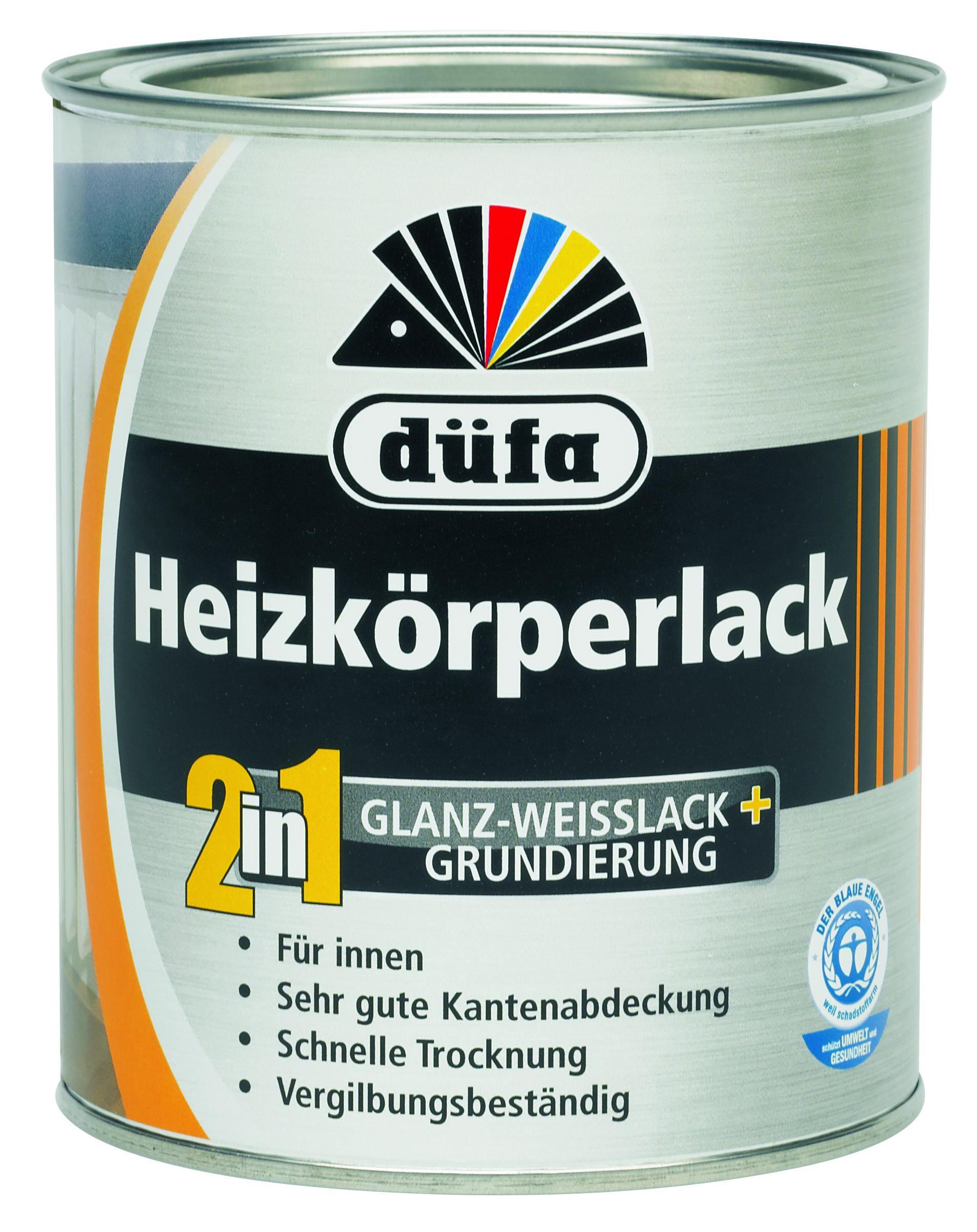 Marke Dufa 2in1 Heizkorperlack Weiss Weiss Raumkult24 De
