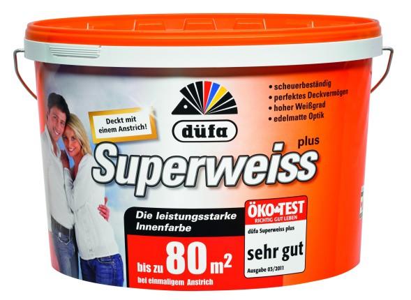 D414 Superweiß (Weiß; 5 Liter)
