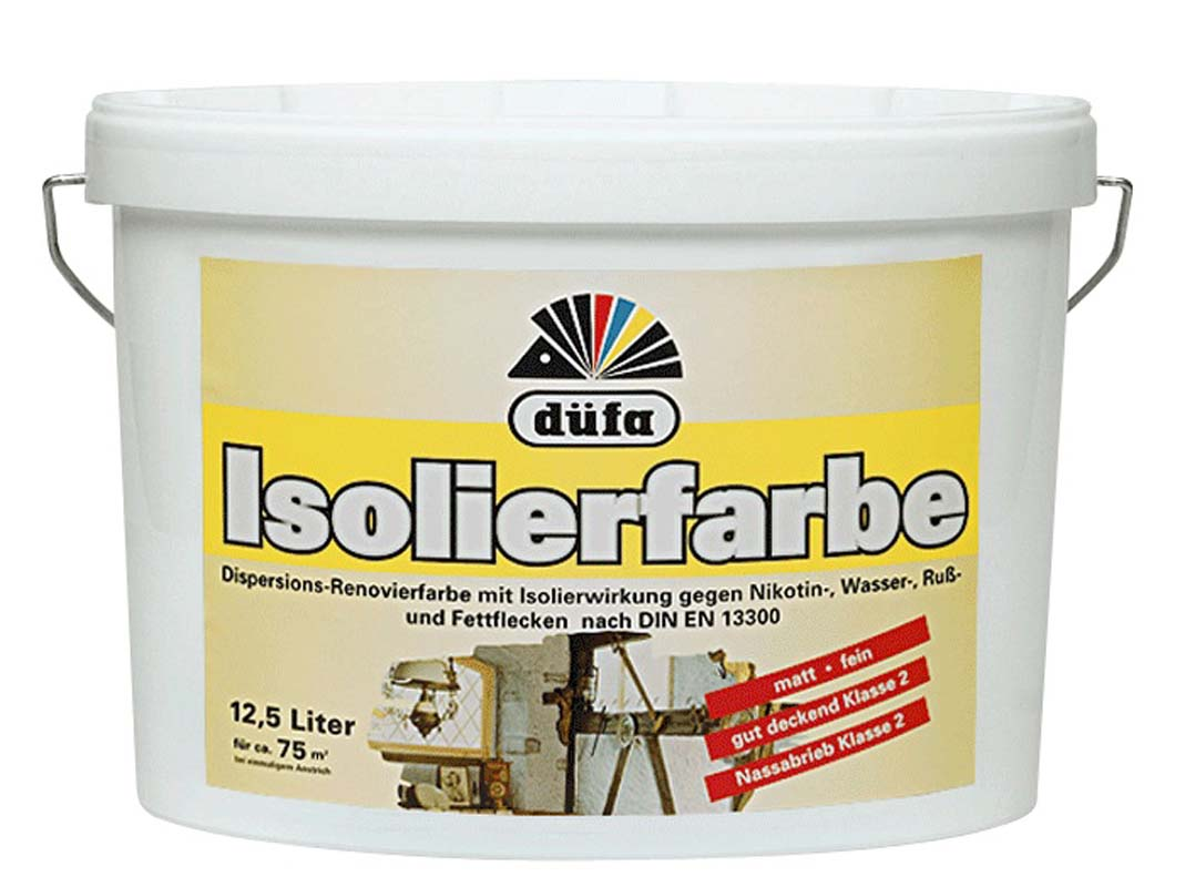 Isolierfarb (Weiß; 12.5 Liter)
