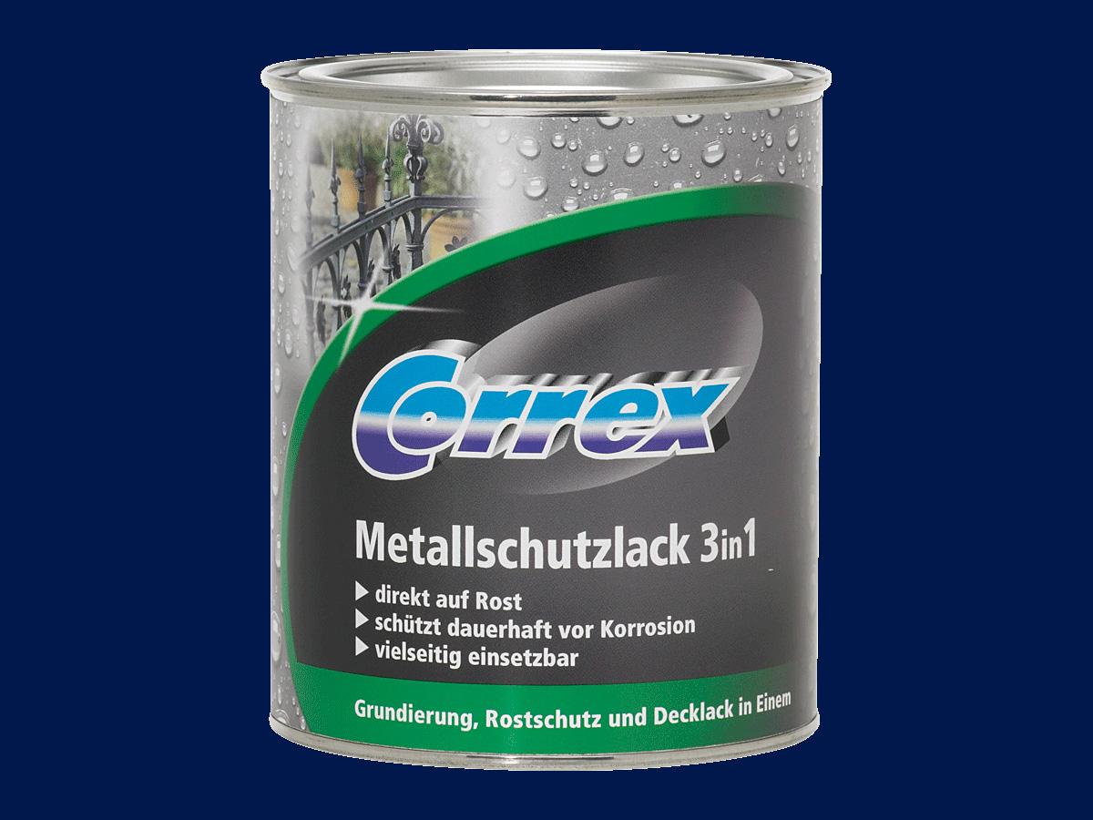 Metallschutzlack 3in1 (Blau; 750 ml)