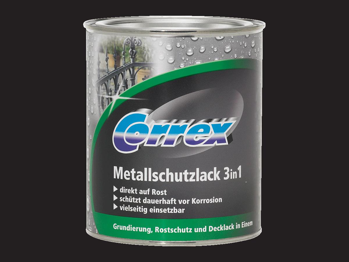 Metallschutzlack 3in1 (Schwarz; 750 ml)