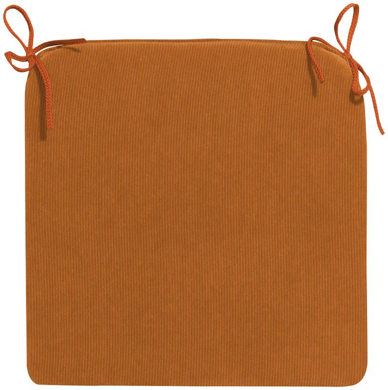 Stuhlkissen TRIO - Form 15 (Orange)