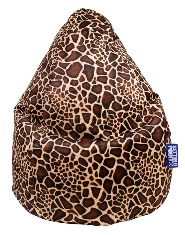 BeanBag AFRO (Giraffe; 80 x 130 cm)
