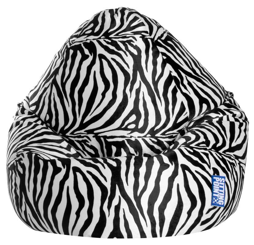 BeanBag AFRO (Zebra; 70 x 110 cm)