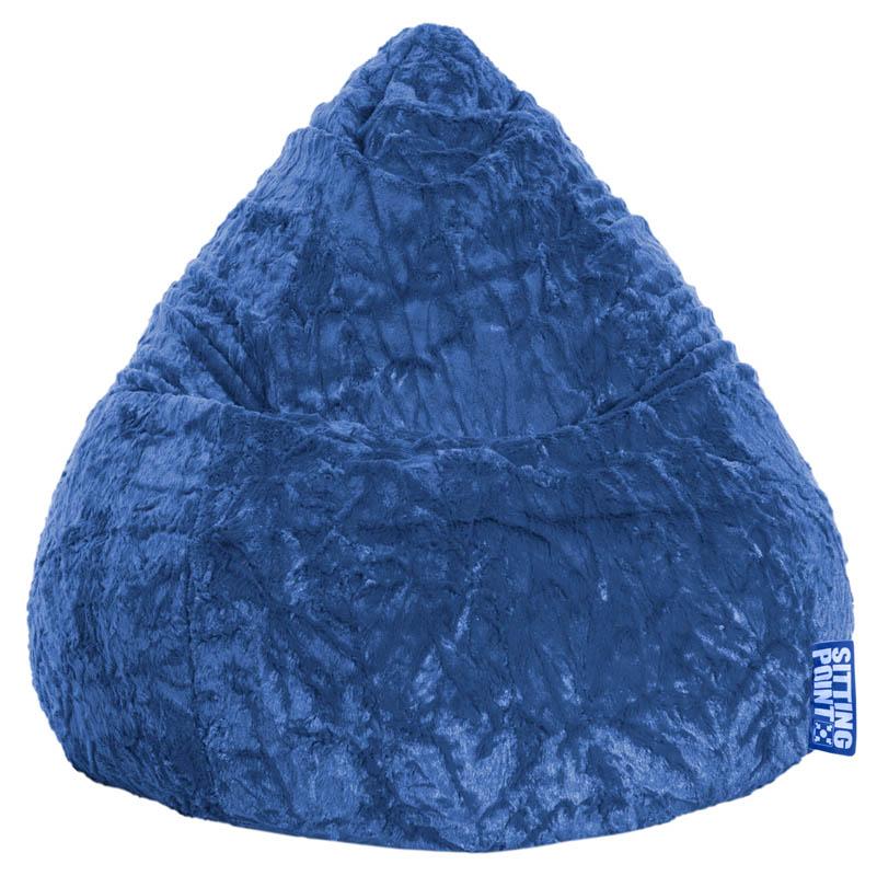 BeanBag FLUFFY (Blau; 70 x 90 cm)