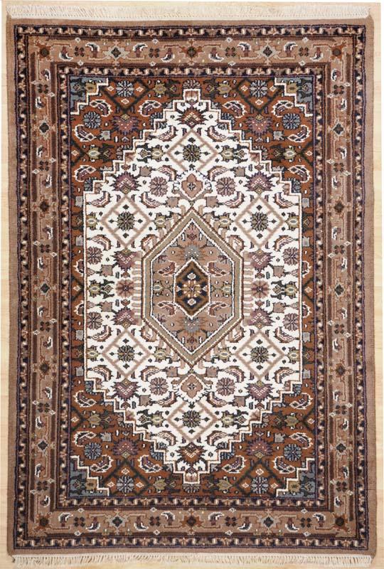 Teppich Bado Bidjar (Beige; 90 x 160 cm)