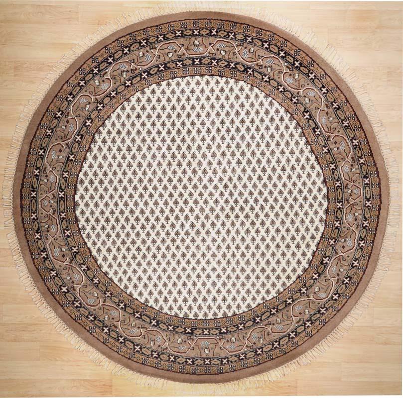 Teppich Bado Mir Plain (Beige; 200 x 200 cm)