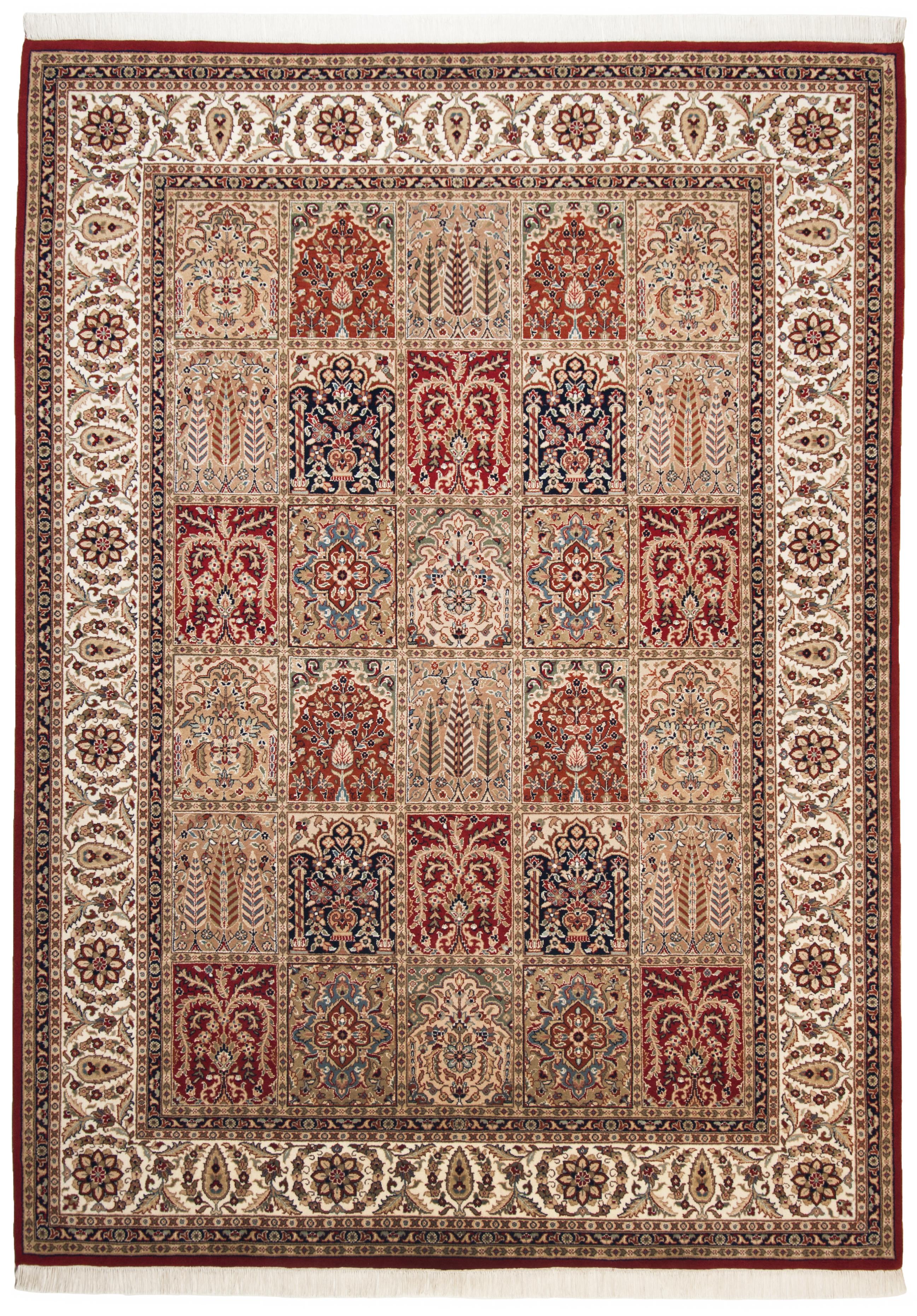 Teppich Sirsa Silk touch Bakhtiyari N - Rot