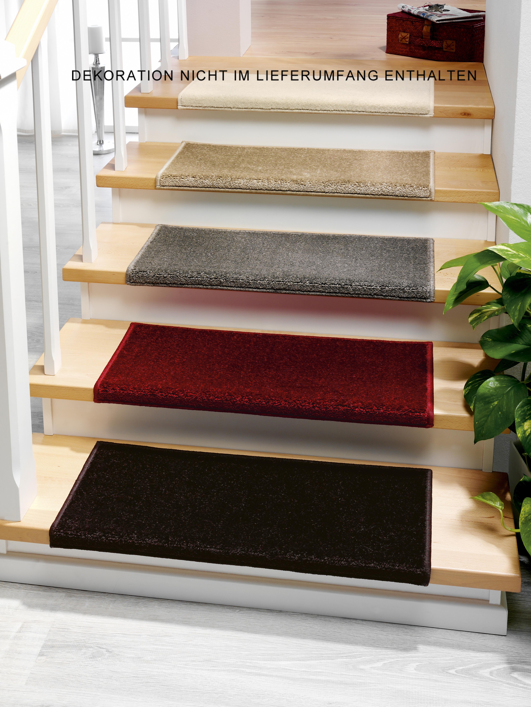 Stufenmatten - 3er Set - Casa 3937 (Nougat; eckig)