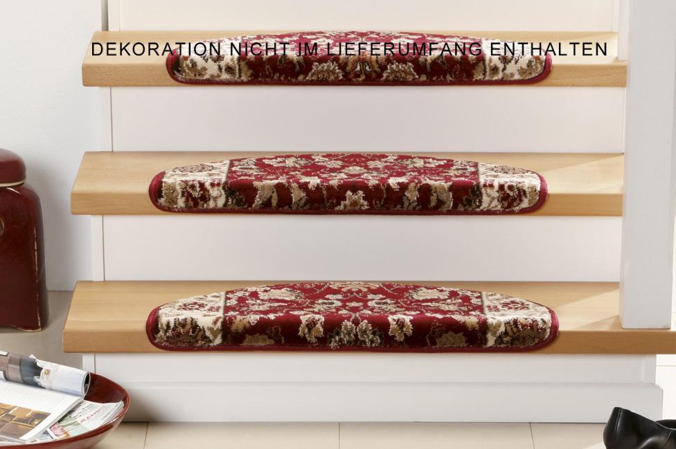 Stufenmatten - 3er Set - Opus 6974 (Rot)