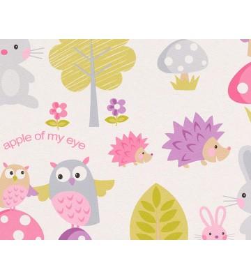 Boys and Girls 4 Papier-Tapete 935551 (Rosa)