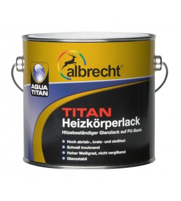Aqua Titan Heizkörperlack - Weiß