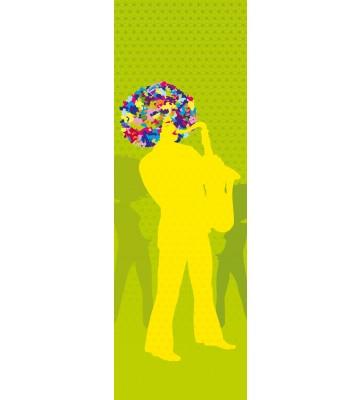 AP Panel - Funky vibes green, SK-Folie