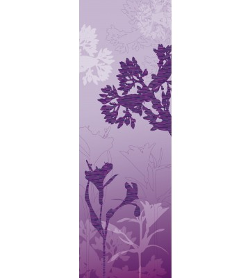 AP Panel - Mystic blossoms violet