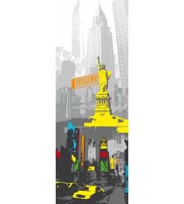 AP Panel - New York, SK-Folie