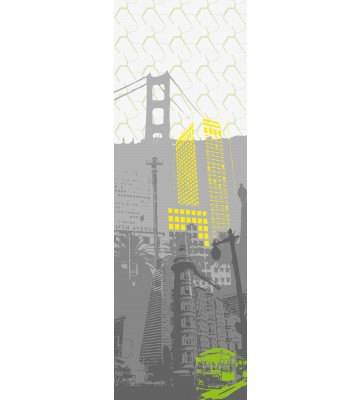 AP Panel - San Francisco, SK-Folie