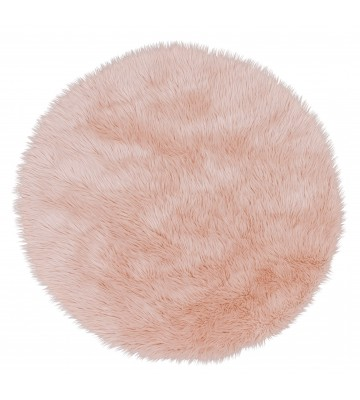 Astra Fell Teppich Mia - Rund (Pink)