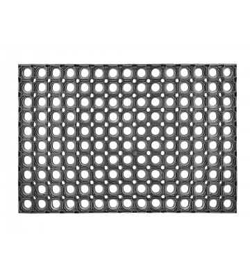 ASTRA Gummimatte - Quadro light - Schwarz