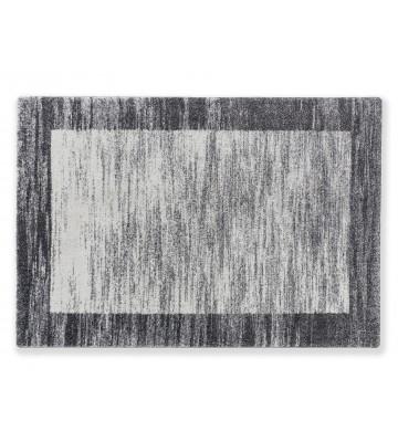 Astra Hochflor Teppich Savona - Bordüre - Silber