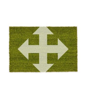 ASTRA Kokosmatte Kokosvelours Colors - individuelles Wunschmaß - Grün
