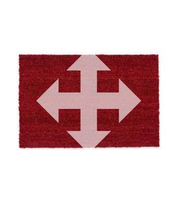 ASTRA Kokosmatte Kokosvelours Colors - individuelles Wunschmaß - Rot