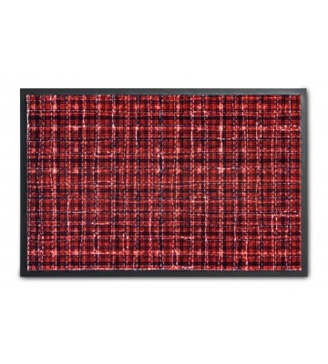 ASTRA Schmutzfangmatte - Homelike Gitter rot (Rot)
