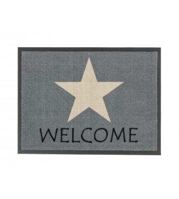 ASTRA Schmutzfangmatte - Homelike Stern welcome - Grau