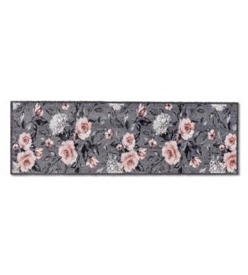 ASTRA Schmutzfangmatte - Pure und Soft Blumen - Grau