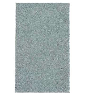 Kurzflor Teppich Samoa - Uni Design - Silber