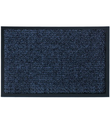 Sauberlaufmatte nach Maß Graphit - Blau