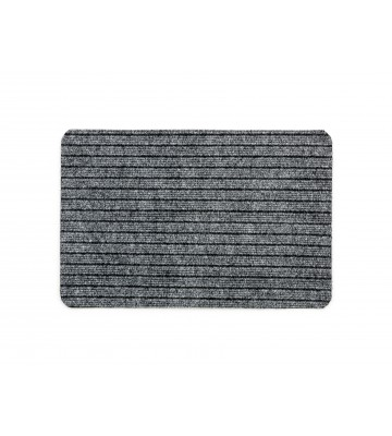 Schmutzfangmatte Breitripsmatte - Grau
