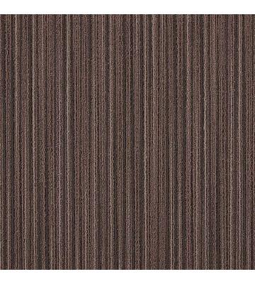Schlingen Teppichfliese Lineations (Braun)